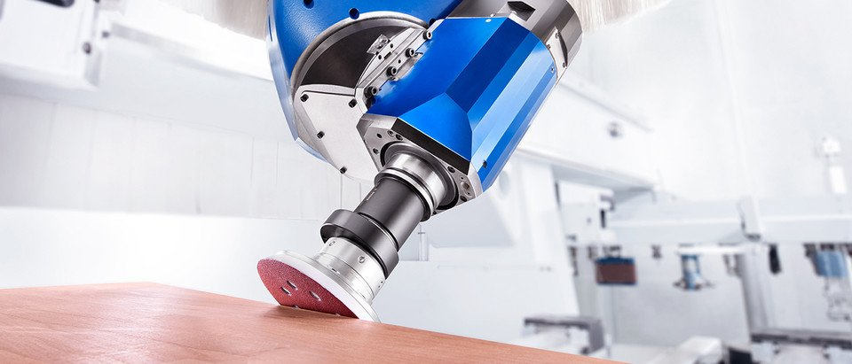 BENZ Tooling 5-axis technology for wood and composite material processing
